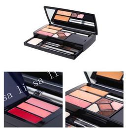 2019 boîte pour cils en gros Wholesale-Europe et les États-Unis vendent une boîte de maquillage de voyage Eye shadow Cils à la crème Crayon à sourcils boîte pour cils en gros pas cher