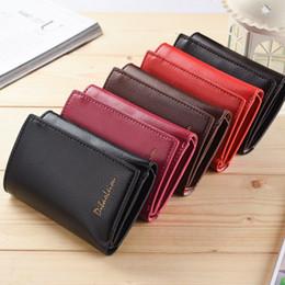 Wholesale Dress Folder - New short three fold wallet practical multi-purpose men's wallet lady wallet couple folder bag