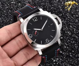 Wholesale 44mm Pam - Hot Sales Fashion 1950 Pam Tianjin Seagull Automatic 44mm Leather Strap Men's Watch