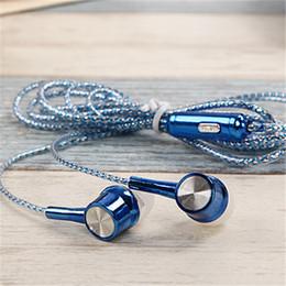 Wholesale Best Mp3 Player Headphones - Best Price 3.5mm Headphones Metal Headset In-Ear Earbuds For Mobile Phones Computers MP3 MP4 player Earphones Earphone