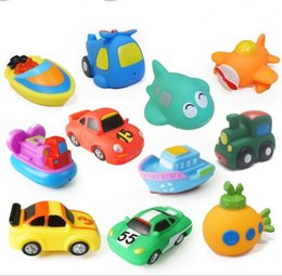 Wholesale Inflatable Latex Toy - Baby kids boy bath toys car water spraying inflatable toy brinquedos menino banho YH538