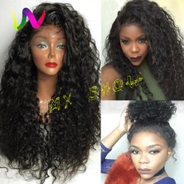Wholesale Cheap Long Synthetic Hair Wigs - Best Natural Looking Sythetic Lace Front Wig Cheap Curly Lace Front Wigs Sintetica Long Synthetic Lace Front Wigs With Baby Hair