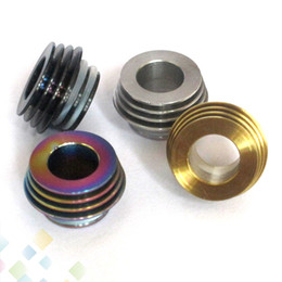 Wholesale Drip Tips Adapter - TFV8 TFV12 810 to 510 Drip Tip Adapter Stainless Steel Material Fit SMOK TFV8 TFV12 810 Tank Connecter Adaptor DHL Free