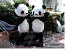 Wholesale Carnival Costumes China - 2017 hot sale Panda bear Mascot Costume Costume Adult Size suit Carnival Party Dress China panda Mascot Costume Free shipping