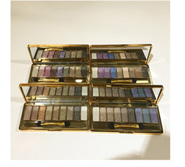Wholesale Bright Palette - 2017 Glitter Diamond Bright Makeup Palette Flash Eyeshadow Professional Diamond Eyeshadow Cosmetic With Brush For Girls Teens 9 Color