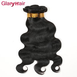 Wholesale Cheap Brazilian Hair Bundles Online - Cheap Mink Brazilian Hair Bundles Unprocessed Virgin Hair Bundle Deals Glary Body Wave Straight Human Hair Weaves Best Selling Items Online