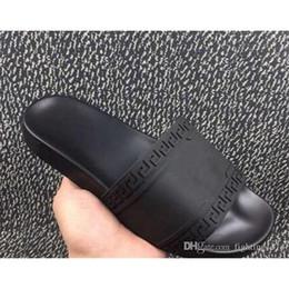 Wholesale Mens Rubber Sandals - 2017 Men's Palazzo Medusa Slide Sandals Slippers Mens Shoes