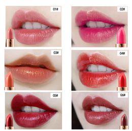 maquillage incroyable Promotion NOUVEL ARRIVAGE Dreamy star Mermaid's lipstick Incroyable brillant rouge à lèvres doré Partie maquillage chercher 6 couleurs 3.8g livraison gratuite