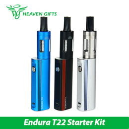 Wholesale E Cigarette Innokin - Wholesale- New Innokin Endura T22 Starter Kit E cigarettes with 2000mAh in-built Battery & 4ml Prism Tank Atomizer with coil Innokin Vape