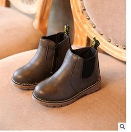Wholesale Thick Fringe - Fringe Girls Boots Fur Thick Warm Children's Shoes New Shoes For Boys Top Quality Baby Cotton Zip Kids Snow Boots Winter