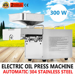 Wholesale Automatic Homemade Oil Press Machine Expeller Stainless Steel Food Grade