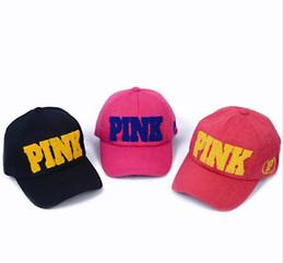 2019 angepasste hüte Hut Baumwolle Schwarz Mei rot Wassermelone rot rosa Stickerei Brief Sommer angepasst Snapback für Frauen Pink Women Baseball Caps günstig angepasste hüte