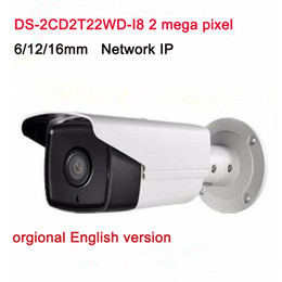 Wholesale Ip Functions - English Version Surveillance CCTV Camera DS-2CD2T22WD-I8 2.0MP EXIR Network Bullet IP Camera with PoE WDR Function