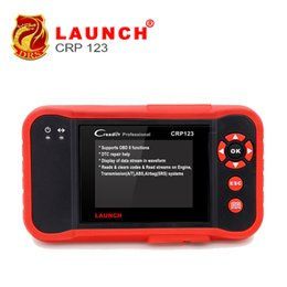 Wholesale Crp 123 Scanner - 2017 New LAUNCH Creader CRP123 Code Scanner Creader Support for Multi Brand Car Diagnostic Tool CRP 123 Reader 7+ Car Scan Tool