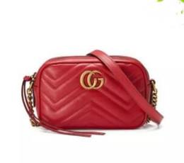 Wholesale Silk Backpacks - Europe 2017 Luxury brand women bag luxury designer handbags leather backpack bags for women handbag Chain shoulder GG bag ladies handbags