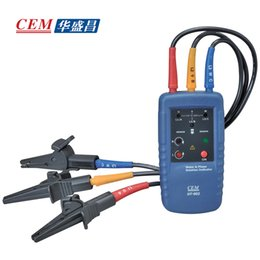Wholesale Rotation Indicator - Wholesale- 2016 New Arrival Promotion Water Flow Meter Motor And Phase Rotation Indicator Sequence Tester Dt-902
