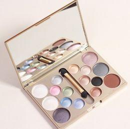 Wholesale Professional Light Kit - Wholesale- Make up brand 16 colors eye shadow glitter of diamonds eyeshadow palette professional makeup kit cosmetic maquiagem beauty