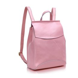 Wholesale Pretty Backpacks - Wholesale- Hot Sales 2016 Fashion Women's Brand Elegant Backpacks High Quality Genuine Leather Women Bags Pretty Style Girl's Bag
