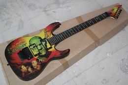 Wholesale Hammett Guitar - OEM Free Shipping Factory custom Top Quality SALE Kirk Hammett Metallic E S P KH2 M-II Mummy Karloff Tlmummy Electric Guitar 914
