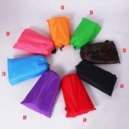 Wholesale Inflatable Air Sofa - Lay Bag Sleeping Bag Fast Inflatable Camping Air Sofa Sleeping Beach Bed Banana Lounge Bag Laybag