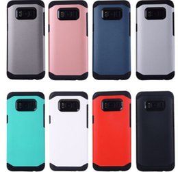 Wholesale Note Case Sgp - For iphone x case hybrid SGP silm armor cases TPU PC shockproof rugged cover for iphone 8 7 7 plus 6 6s samsung s8 s8 plus s7 s6 note 5 7