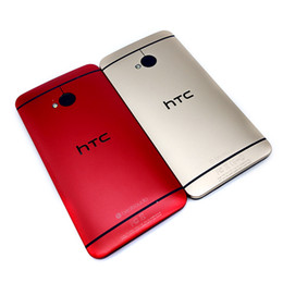 Wholesale m7 one - Original Refurbished HTC One M7 801e Refurbished Phone Android Phone 4G Lte Phone Quad Core 4.7 inch 2gb Ram 32gb Rom