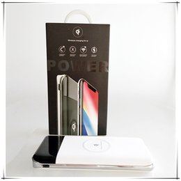 Wholesale Uk Products - New products wireless power bank mobile charger with LED Lights 1000mah for Iphone X iphone 8