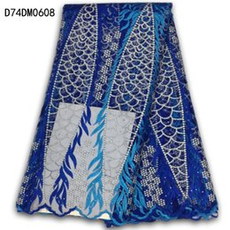 Wholesale Purple Voile African Lace - wholesale and retail Latest purple African swiss voile lace fabric high quality African net lace french lace material dress free shipping!