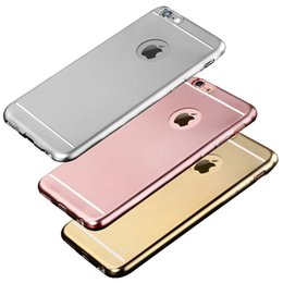"""Wholesale Gild Phone - Case For Apple iPhone 6 6S 4.7""""   6Plus 6S Plus 5.5"""" Royal Luxury style Plating Gilded TPU Phone silicone soft Back Case Cover"""