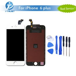 Wholesale Iphone Touch Screen Repair - Grade AAA quality for iphone 6 Plus LCD Display Touch Digitizer Woderful Repair Replacement Parts+ Repair Tools+Free Shipping