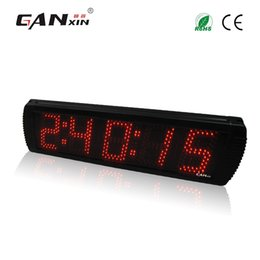 Wholesale Outdoor Color Display - [GANXIN] 5'' 5 Digits Red Color Marathon Race Timer Led Display Using for Many Kinds of Races Countdown and Countup Outdoor Timer ECRU