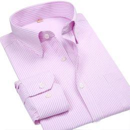 Wholesale Mens Designer Shirts Wholesale - Wholesale- New Fashion Spring 2017 Classic Men Striped Dress Shirt Long Sleeve Turn-down Collar Regular-Fit Mens Shirts Designer Camisa