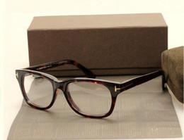 Wholesale Designer Optical Eyewear - Hot Designer Eyeglasses Frame Men Optical Glasses Frame Spectacles Brand Myopia Frames Fashion RetroTF5147 Italy Brand Eyewear with Case