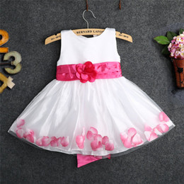 Wholesale Toddlers Wedding Suits - Princess Vintage Girl Gowns Dress Baby boutique Clothes Flower Birthday Wedding Angle Dress Kids Child Toddlers Sundress Formal Lace Suit