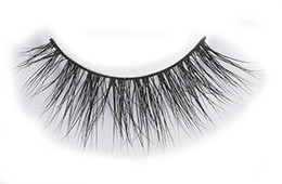 Wholesale L Curl - Hand made Long Curl 100% Real Siberian Mink Fur lashes 3d false eye lashes free shipping