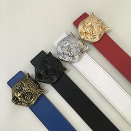 Wholesale Wide Leather Belt Black - Hot sell fashion new Big buckle original designer belts men high quality mens belts luxury men designer leather belt free epacket shipping
