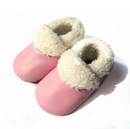 Canada bottes mocassins bébé mocassins d'hiver multicolores Offre