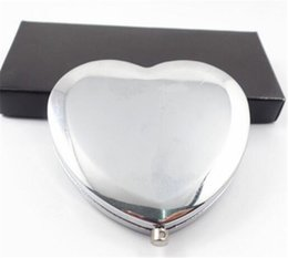 Wholesale Personalized Wedding Gifts For Guests - Personalized Wedding Gift And Favor For Guest With Purse Bag Customized Heart Make Up Mirror Baby Bridal Favour Party Boda