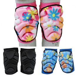 Wholesale Roller Skates For Men - Wholesale- 2pcs set Men Women Boy Girl Safety Protection Knee Pads Protector Kneecap Kneepads for Scooter Cycling Roller Skating Skiing