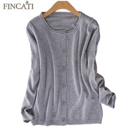Wholesale Rolled Collars - Wholesale- 2017 New Autumn Winter Women Clothing Cashmere Blending Rolled Collar & Cuff Long Sleeve Cardigan Outerwear Slim Sweaters