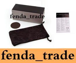 Wholesale Packaging Boxes For Sale - factory Price suit for D-Ragon Sunglasses packages MOQ=10pcs FREESHIP HOT sale Brand black bags black paper box