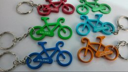 Wholesale Keychain Photo Favor - Personalized Keychain Design Bicycle Versatile Aluminum Beer Bottle Opener For Funny Kitchen Supplies Bar Tools Wedding Favor (Can Be Print