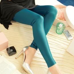 Wholesale Imitation Leather Capris - Hot Sale New 2015 Fashion women Capris Plus Size S-XXXL PU imitation Leather Patchwork Leggings women Pants JN039