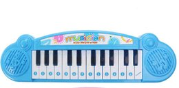 Wholesale Electronic Organ Toys - Children's electronic organ toys with a microphone girl babies children baby piano toy