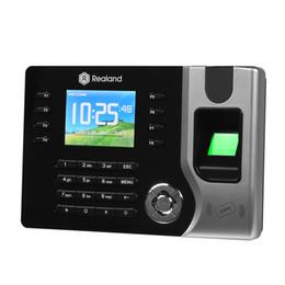 Lettore biometrico di impronte digitali con rilevazione del tempo e registratore di tempo elettronico AC071 USB ID supporto registratore dell'ora da