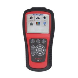 Wholesale Scanner Maxidiag - 2017 MaxiDiag Elite MD802 For 4 System With Datastream Model Engine,Transmission,ABS and Airbag Code Scanner free shiping