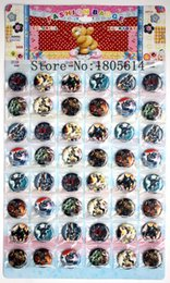 Wholesale New Pin Badges - New! Popular 48pcs Transformers cartoon badge diameter 3cm pin charm full swing kids party best gift free shipping