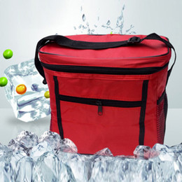 Wholesale Kids Insulated Lunch Boxes Wholesale - Wholesale- Premium 27*17*24 cm Portable Thermal Cooler Waterproof Insulated Picnic Bags Lunch Bags for Women Kids Men Cooler Lunch Box