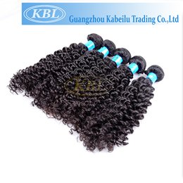 Wholesale 5a Unprocessed Virgin Hair Curly - Wholesale-KBL 5A Brazilian Curly Virgin Hair,Free Shipping Top Quality Remy 100% Unprocessed Brazilian Mongolian Curly Hair