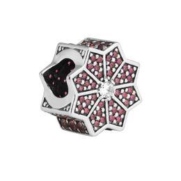 Sterling-Silver-Jewelry Beads para hacer joyas DIY Fit Pandora Pulseras PerLas Charms BerLoQue Perles Kralen AbalOrios Bead desde fabricantes